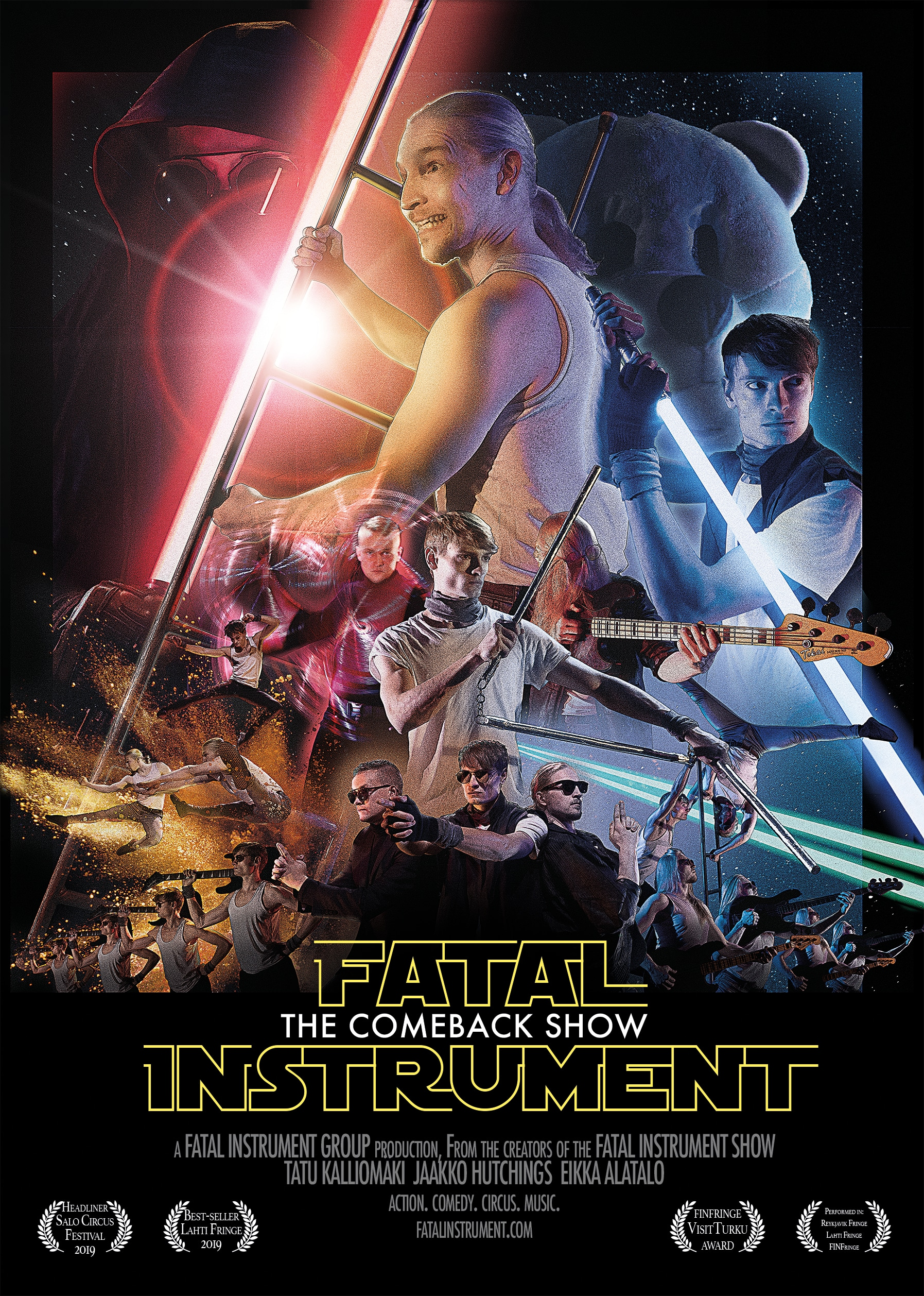 Fatal Instrument - The Comeback Show poster 2020